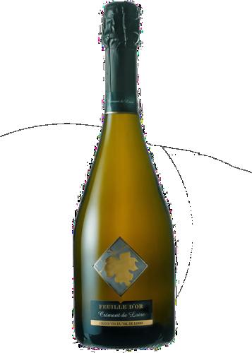 Feuille d'Or Blanc Cremant de Loire AOC