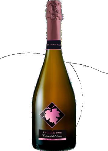 Feuille d'Or Rose Cremant de Loire AOC
